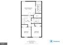 Upper Level Floorplan - 107 STINGRAY CT, STAFFORD
