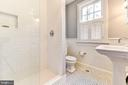 Renovated full bath on main level - 4707 47TH ST NW, WASHINGTON