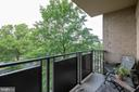 Private balcony to relax at the end of the day - 3101 S MANCHESTER ST #516, FALLS CHURCH