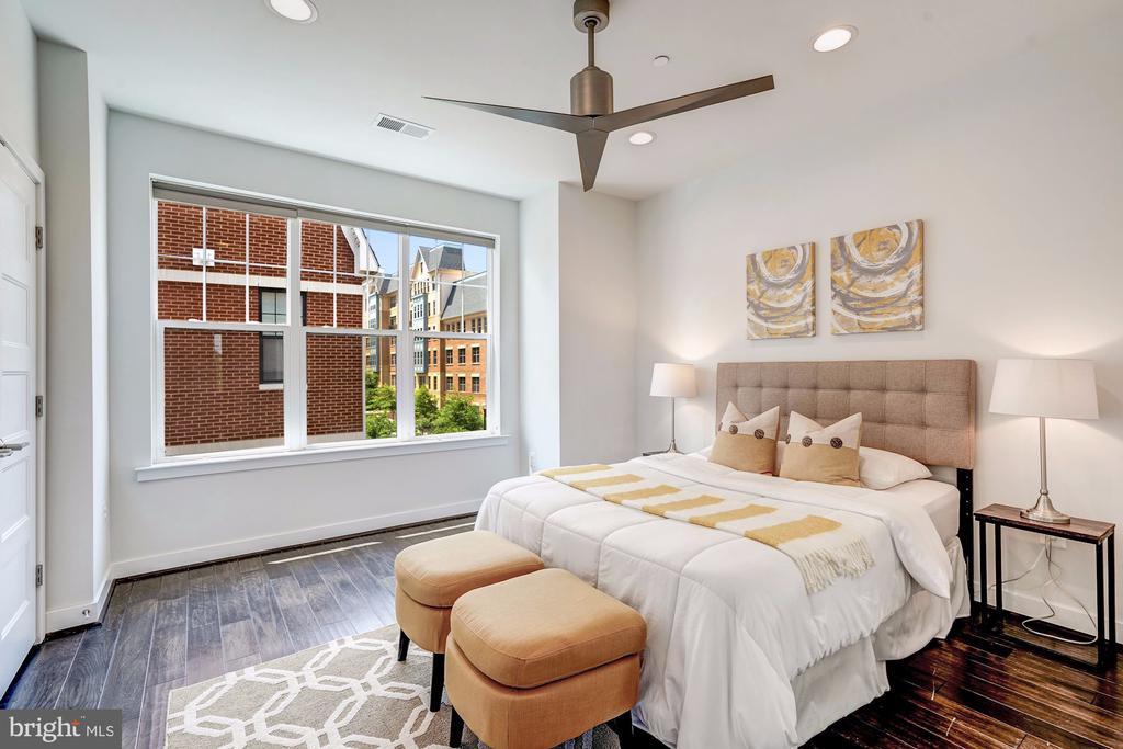 Master bedroom - 3338 7TH ST NE, WASHINGTON