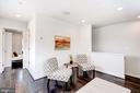 Upper level family room - 3338 7TH ST NE, WASHINGTON