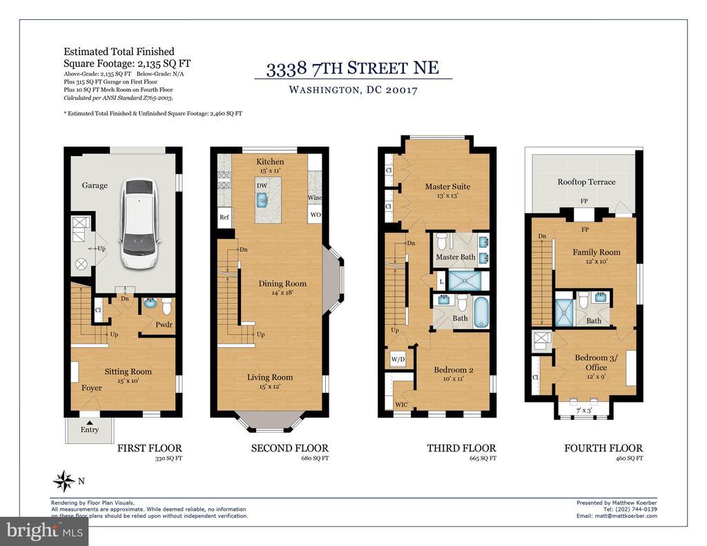 Floor Plan - 3338 7TH ST NE, WASHINGTON
