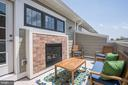 Upper floor private terrace - 3338 7TH ST NE, WASHINGTON