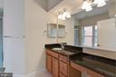 Bedroom #1 Ensuite Full Bath - Granite Counters - 1318 DUKE ST, ALEXANDRIA