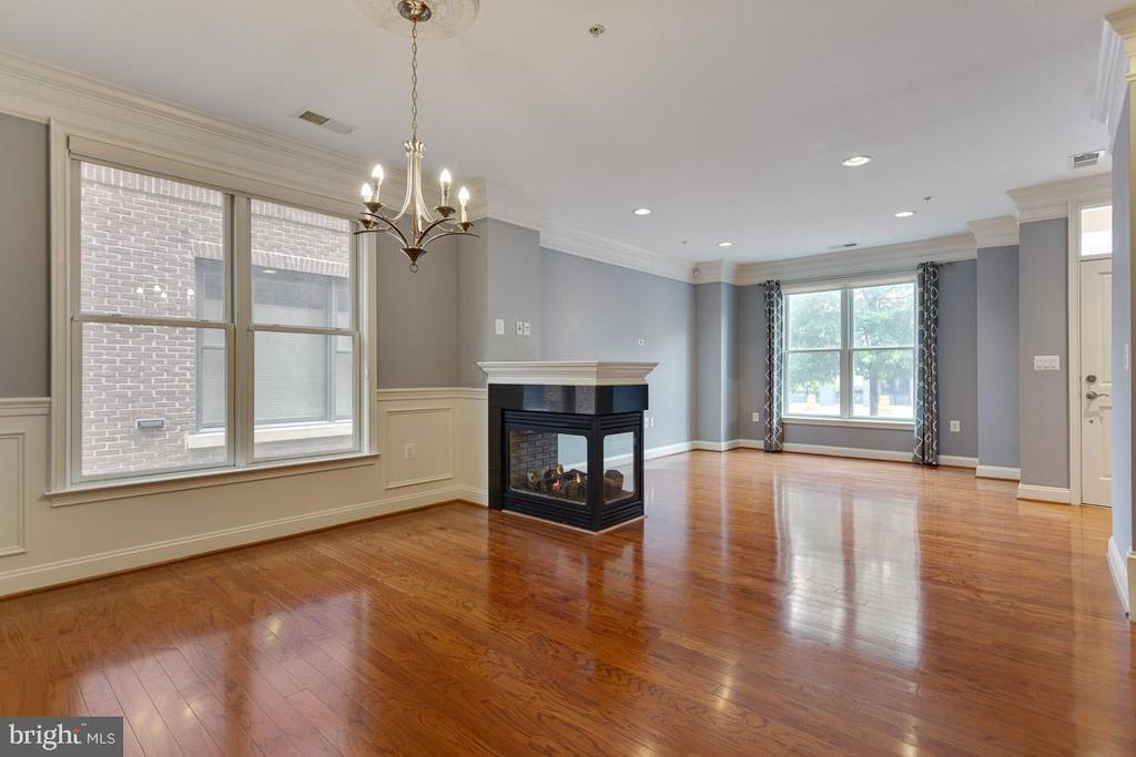 Large Windows in Spacious Dining & Living Room - 1318 DUKE ST, ALEXANDRIA