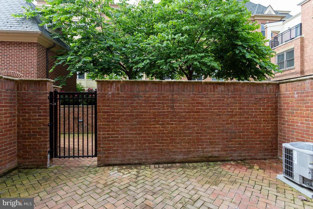 Lovely Courtyard - 1318 DUKE ST, ALEXANDRIA