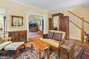 Refinished oak flooring on main level - 1604 N CLEVELAND ST, ARLINGTON