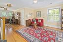 Upper landing offers sitting area and office - 1604 N CLEVELAND ST, ARLINGTON