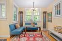 Great room adjoins kitchen - 1604 N CLEVELAND ST, ARLINGTON