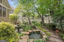Fish pond and fountain - 1604 N CLEVELAND ST, ARLINGTON