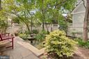 Tranquil rear yard - 1604 N CLEVELAND ST, ARLINGTON