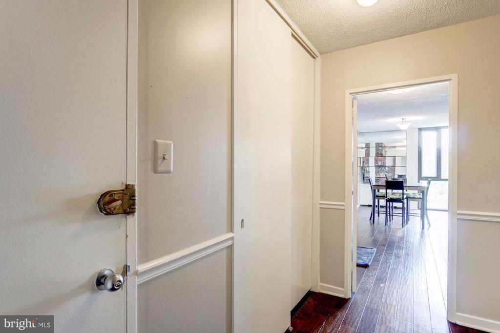 Hallway - 240 M ST SW #E414, WASHINGTON