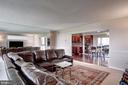 Living room - 240 M ST SW #E414, WASHINGTON