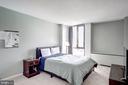 First bedroom - 240 M ST SW #E414, WASHINGTON