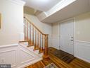 Foyer - 8104 LANGBROOK RD, SPRINGFIELD