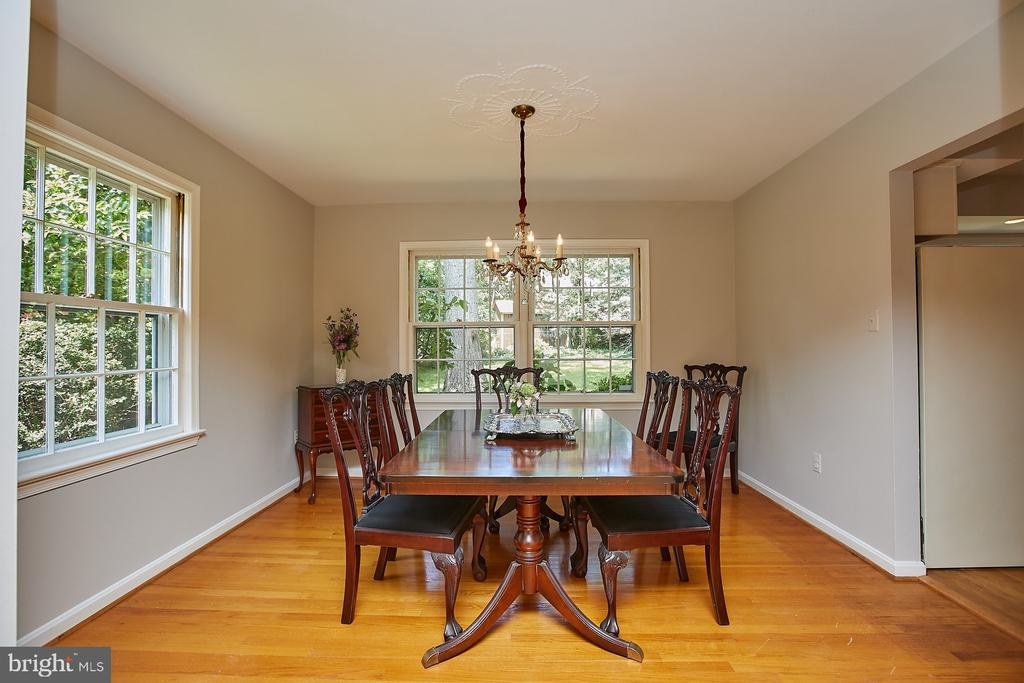 Formal Dining Room - 2430 CARON LN, FALLS CHURCH