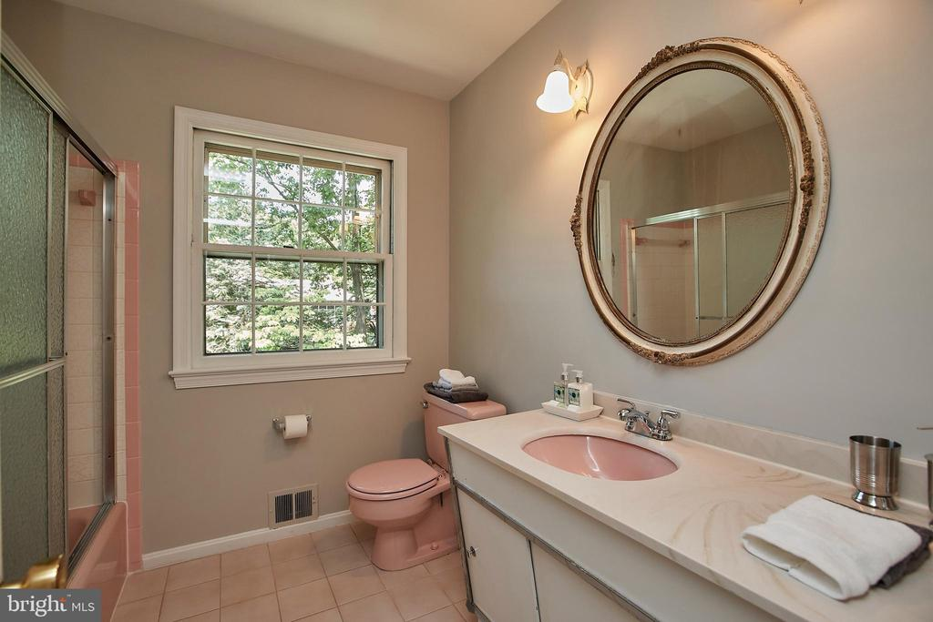 Upstairs Hall Bathroom - 2430 CARON LN, FALLS CHURCH