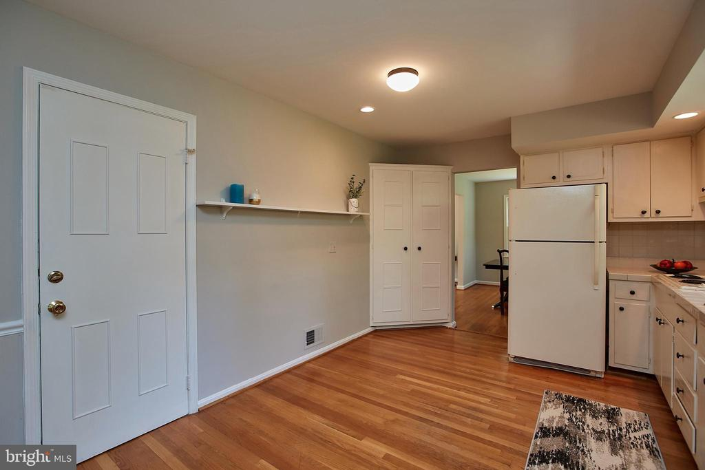 Lots of Kitchen space for Table or addtnl cabinets - 2430 CARON LN, FALLS CHURCH