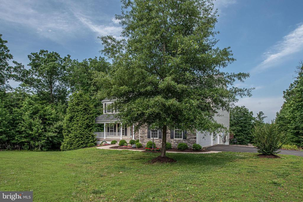 Surrounded by trees for privacy - 51 RIVER RIDGE LN, FREDERICKSBURG