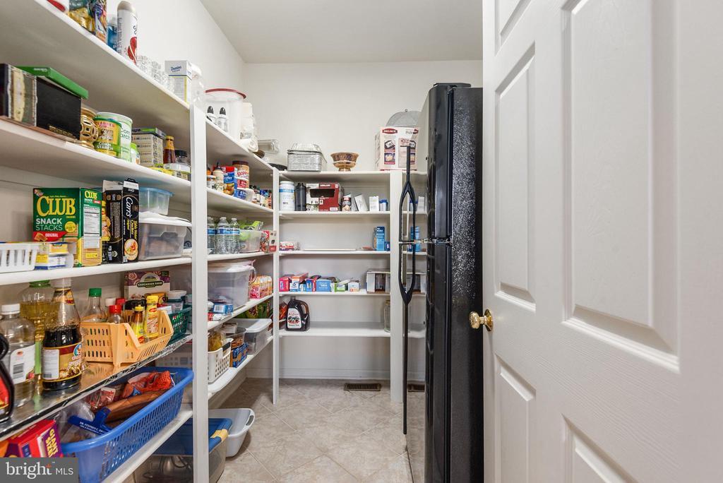 Exceptionally large pantry. Fridge 2 conveys. - 51 RIVER RIDGE LN, FREDERICKSBURG