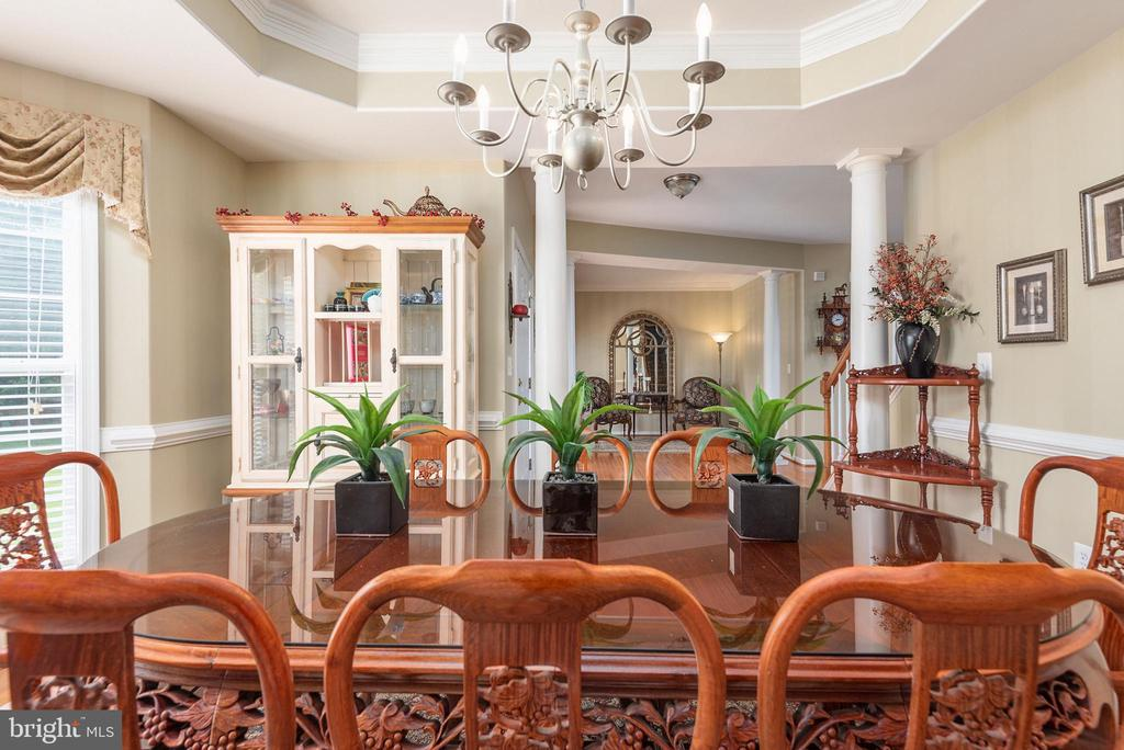 Entertaining awaits in your new dining room. - 51 RIVER RIDGE LN, FREDERICKSBURG