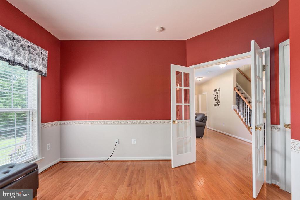 French doors off main floor bedroom. - 51 RIVER RIDGE LN, FREDERICKSBURG