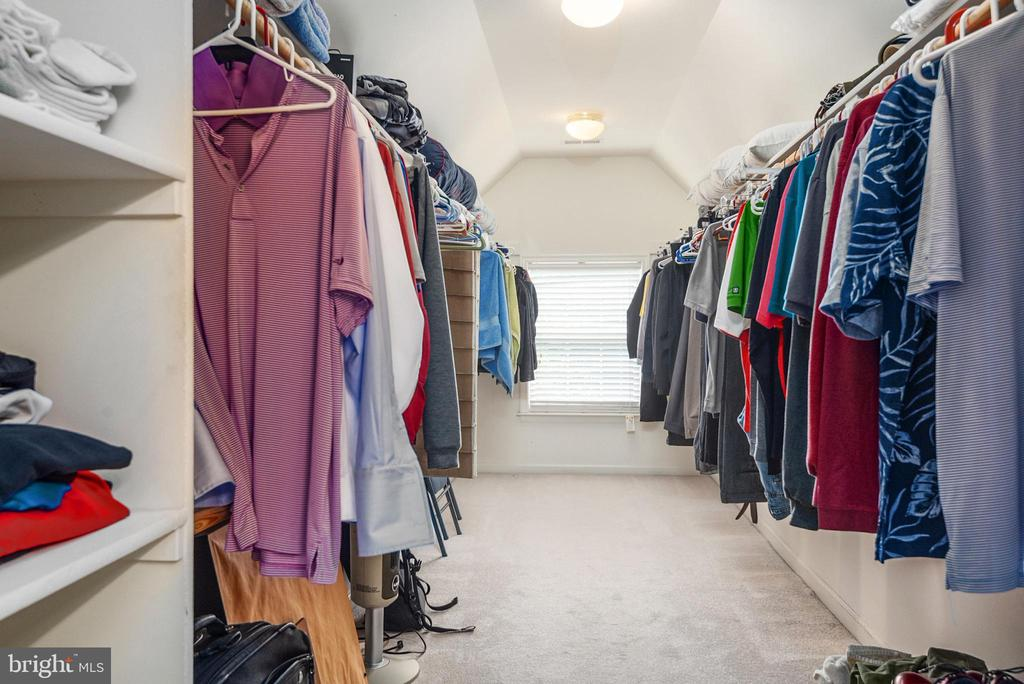 Huge walk in closet from master bath. - 51 RIVER RIDGE LN, FREDERICKSBURG