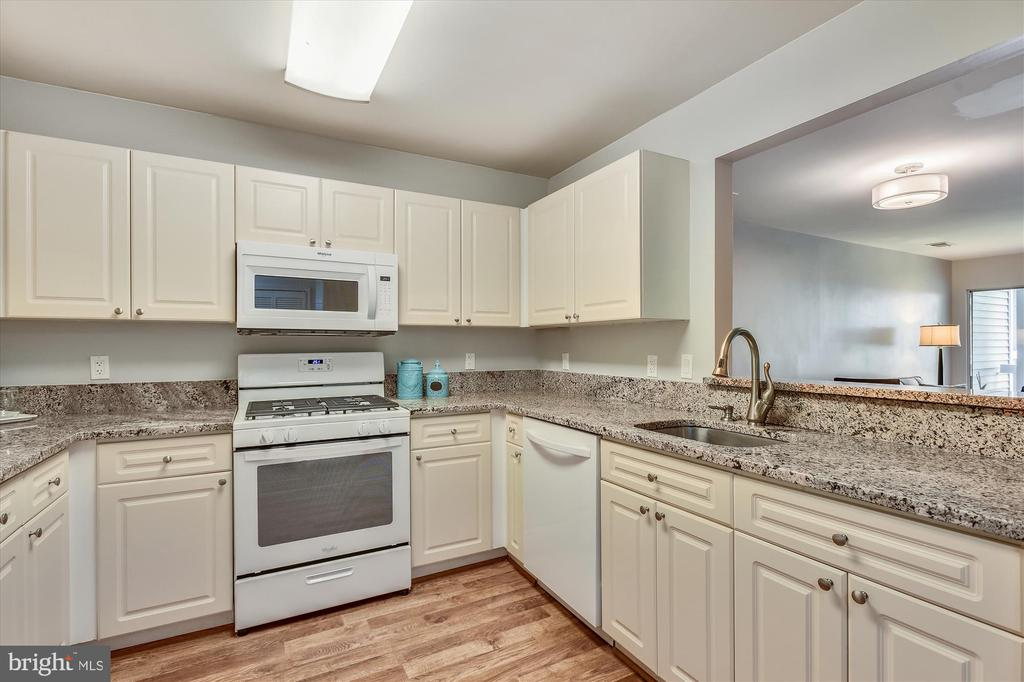 Lots of cabinet/counter space in updated kitchen - 20596 CORNSTALK TER #201, ASHBURN