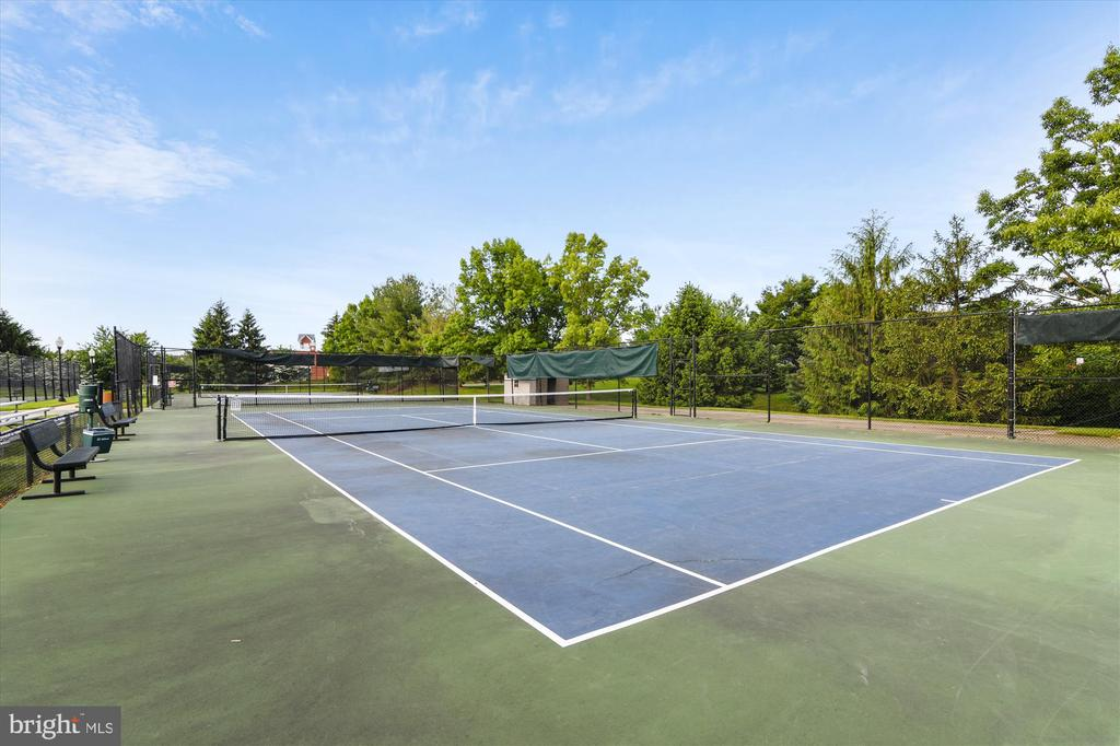 Tennis and basketballs courts - 20596 CORNSTALK TER #201, ASHBURN