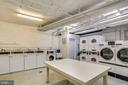 Common main level laundry room  No yucky basement! - 4100 W ST NW #515, WASHINGTON