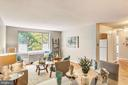 Open and airy  with large windows - 4100 W ST NW #515, WASHINGTON