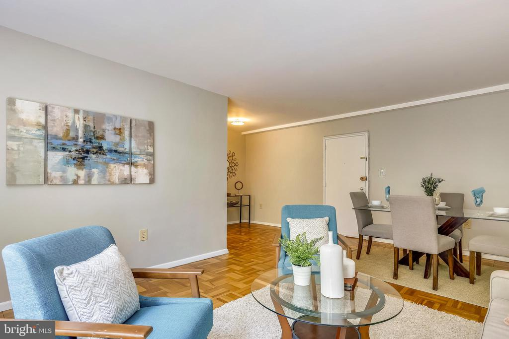 740 sq feet  of living. Won't find this downtown! - 4100 W ST NW #515, WASHINGTON