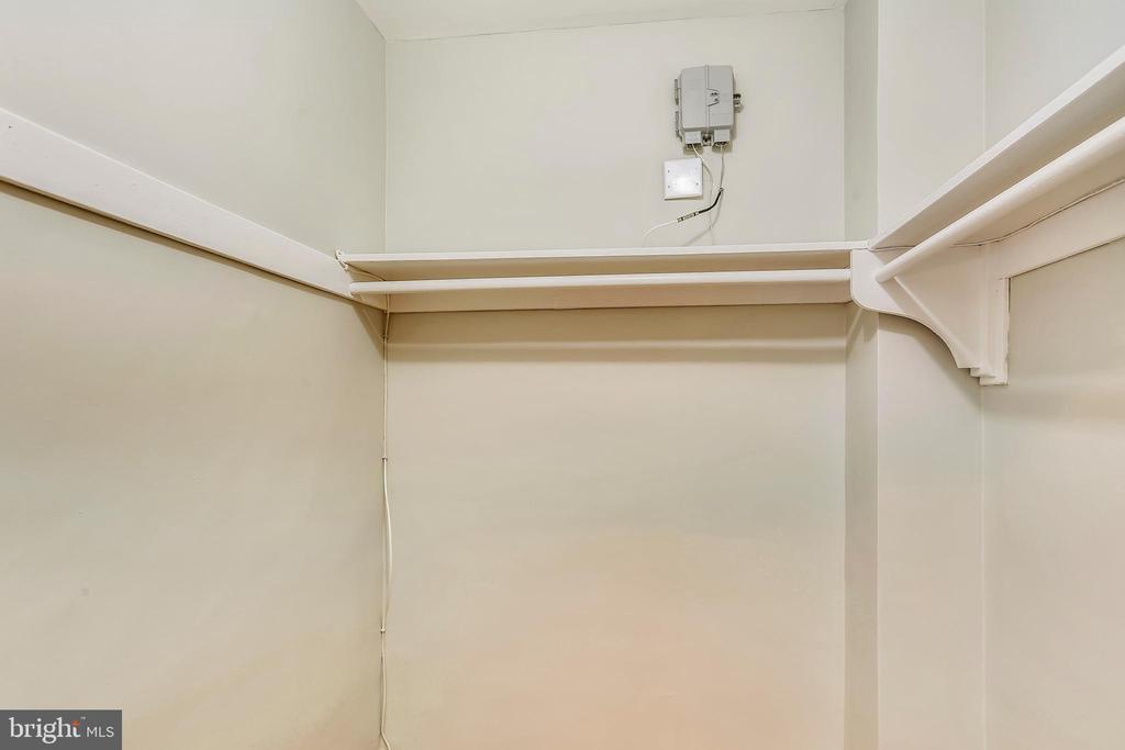 Hello walk-in closet! - 4100 W ST NW #515, WASHINGTON