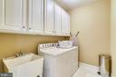 Upper level Laundry Room - 43476 CASTLE HARBOUR TER, LEESBURG