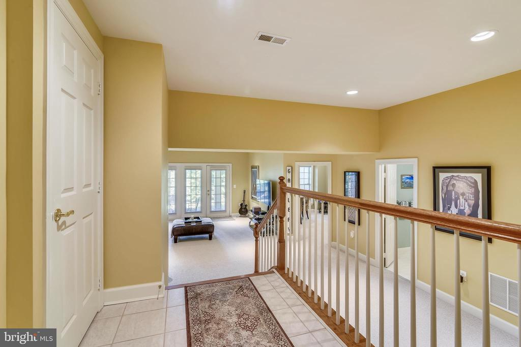 Hall to Lower Level - 43476 CASTLE HARBOUR TER, LEESBURG