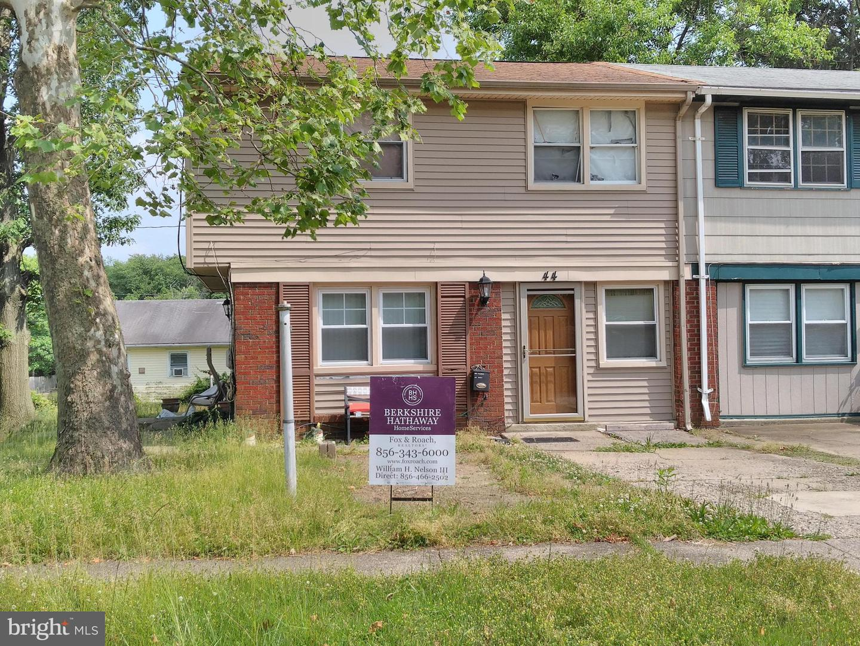 single family homes pour l Vente à Lawnside, New Jersey 08045 États-Unis