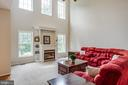 Family room with two story ceilings - 175 PORTLAND DR, FREDERICKSBURG