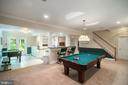 Spacious LL with multiple areas to entertain/relax - 12009 BENNETT FARMS CT, OAK HILL