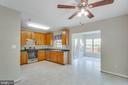 Sunroom off kitchen - 43657 SCARLET SQ, CHANTILLY