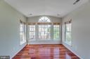 Sun Room off master bedroom - 43657 SCARLET SQ, CHANTILLY