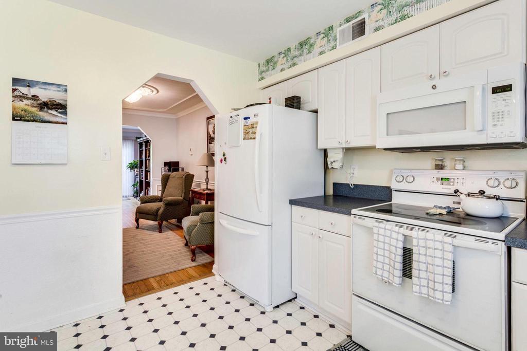 Kitchen - 7332 MALLORY CIR, ALEXANDRIA
