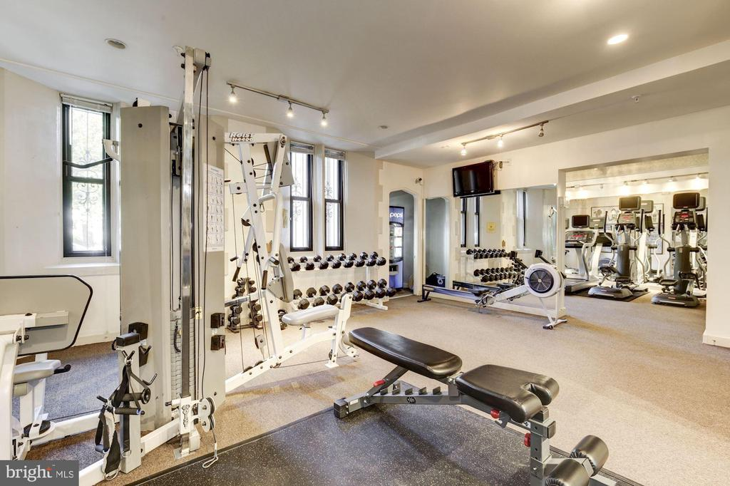 Fitness Center - 1701 16TH ST NW #115, WASHINGTON