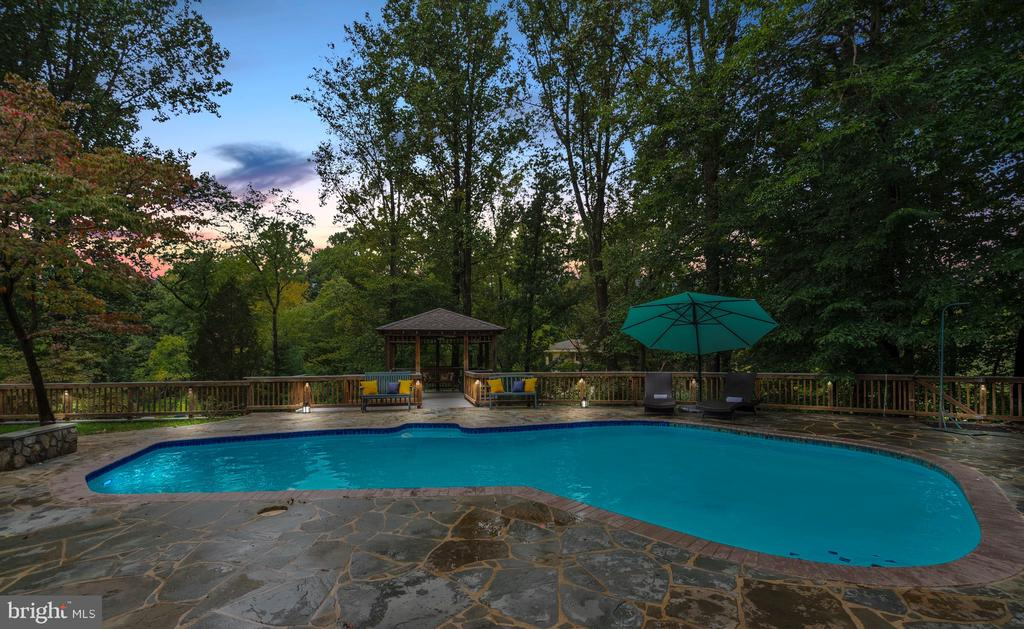 Imagine Summer Nights Lounging by the Pool - 3502 PINETREE TER, FALLS CHURCH