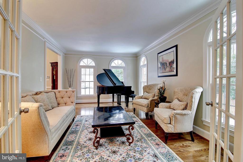 Floor-to-ceiling new palladian windows - 1298 STAMFORD WAY, RESTON