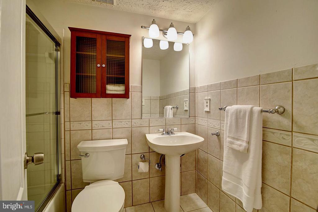Lower level Full Bath - 1298 STAMFORD WAY, RESTON