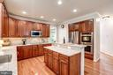 SS appliances updated w/in the last year - 47297 OX BOW CIR, STERLING