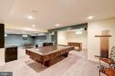 Lower level game room - 47297 OX BOW CIR, STERLING