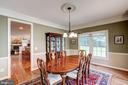 Formal dining room - 47297 OX BOW CIR, STERLING