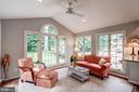 Glorious sunroom with views, views, views! - 47297 OX BOW CIR, STERLING