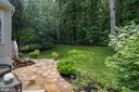 Backyard patio - 47297 OX BOW CIR, STERLING